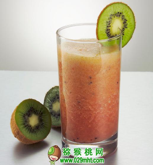 猕猴桃这么搭配榨汁,更美味更营养